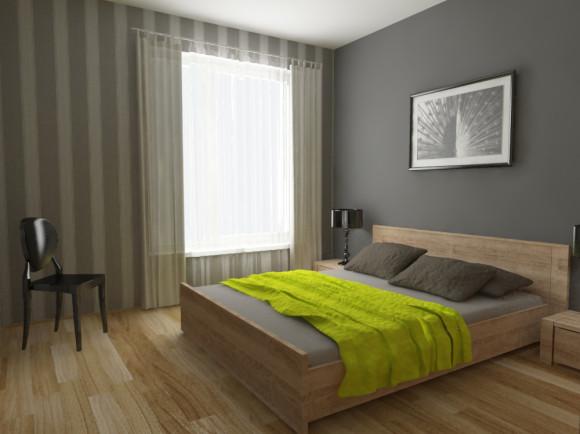 Sypialnia Z Limonką Pracownia Aranżacji Wnętrz O