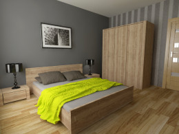 Sypialnia z limonką
