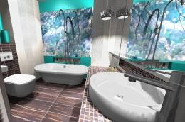 łazienka i lazur