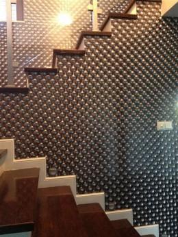 Szałowy dom nowoczesno eklektyczny