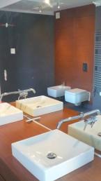 łazienki wnętrza