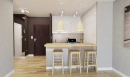 projekt mieszkania w Łodzi