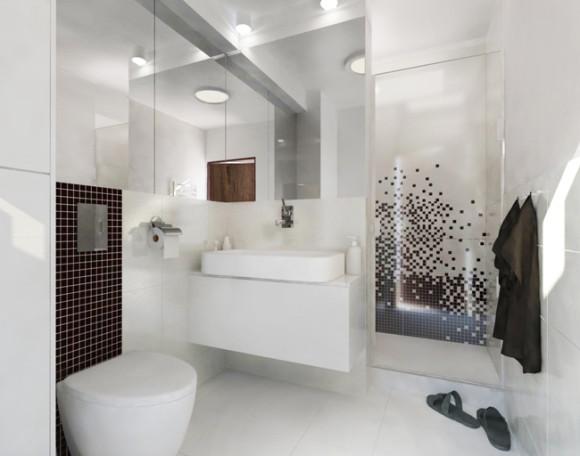 Projekt łazienki Magdalena Malińska E Aranżacjepl