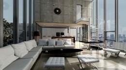 Aranżacja wnętrza loftu