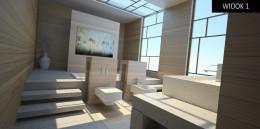 Projekt łazienki - wyróżnienie w konkursie Duravit