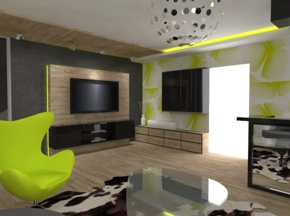 salon 30m2 kalisz aleksandra lepka e aran. Black Bedroom Furniture Sets. Home Design Ideas