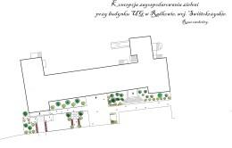 Projekt zagospodarowania zieleni przy budynku UG w Radkowie