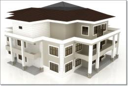 Projekt elewacji Dom Nigeria