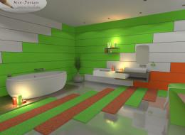 Odważna łazienka