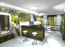kuchnia - dom w Gliwicach