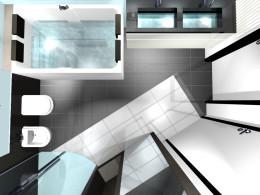 łazienka - mieszkanie Tychy