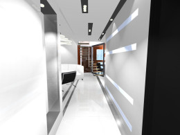 Przestrzeń dzienna - mieszkanie Tychy
