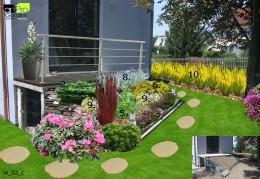 Projekt ogrodu przydomowego - Kraków