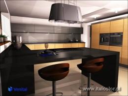 Okleina Venital w nowoczesnej kuchni