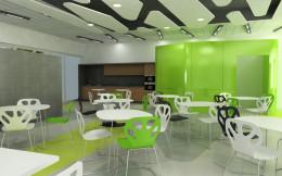 kafeteria w barwach firmy _1