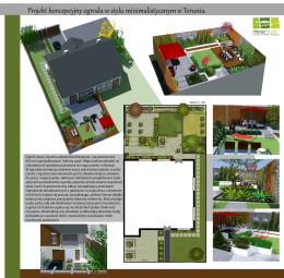 Projekt ogrodu w stylu minimalistycznym