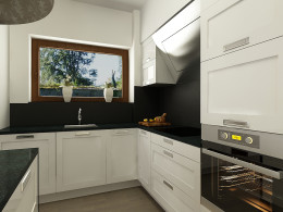 Kuchnia w domu jednorodzinnym