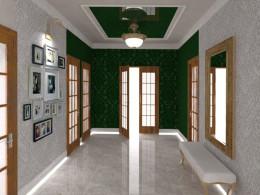 korytarz 20m2 realizacja