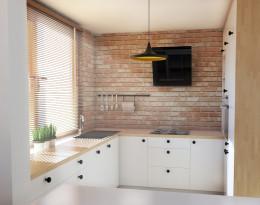 Kuchnia biała - Gdynia