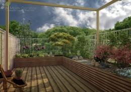 Ogród miejski przy szeregowcu II