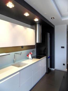 salon z aneksem mieszkanie poznań, 55m2