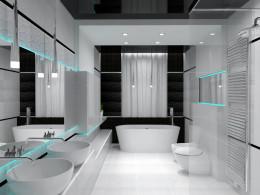 łazienka, projekt