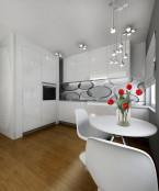 Projekt mieszkania 31m2 - Katowice