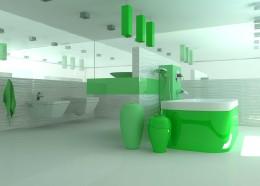 Zielona łazienka Wrocław