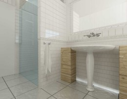 Biała łazienka Wrocław