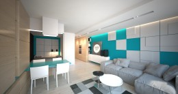 Projekt apartamentu w Ustroniu Morskim
