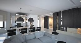 Projekt wnętrz domu jednorodzinnego w Jaworznie