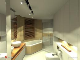 Łazienka ze szczyptą trawertynu