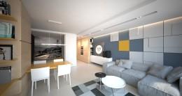 Projekt apartamentu w Ustroniu Morskim 2