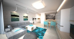 Projekt apartamentu w Ustroniu Morskim 3