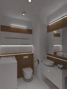 ciepłe mieszkanie 55m2, łazienka