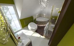 Stylowa łazienka w Warszawie