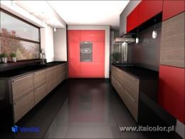 Projekt kuchni dla firmy Italcolor