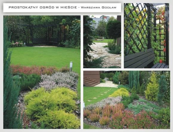 Prostokątny Ogród W Mieście Aneta Rykowska E Aranżacjepl