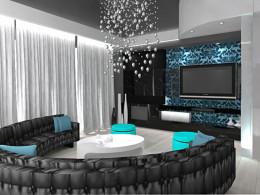 projekt salonu