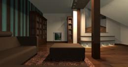 Biblioteka na poddaszu