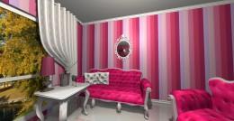 Różowy glamour