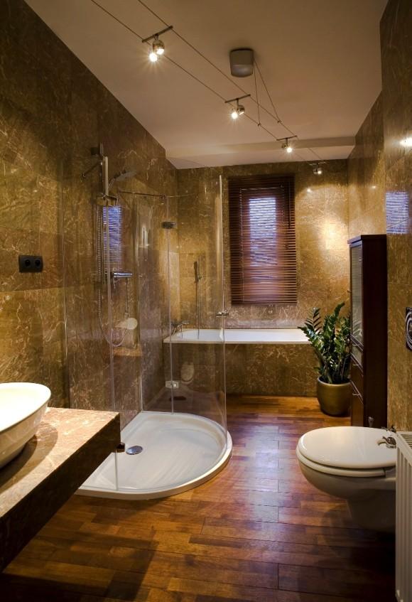 łazienka W Marmurze Anna łysiak E Aranżacjepl