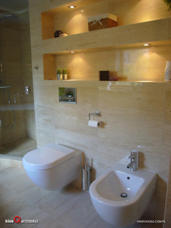 łazienka W Kamieniu Kiosq Architekci E Aranżacjepl