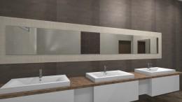 Projekt łazienki damskiej