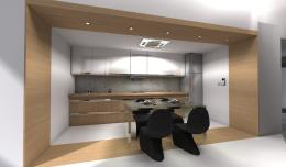 Projekt wnętrz apartamentu