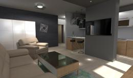 Projekt mieszkania - Toruń