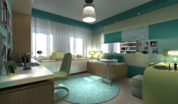 Projekt mieszkania - Toruń 2