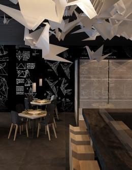 Projekt koncepcyjny sushi baru