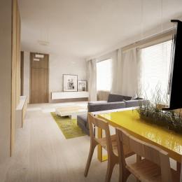Projekt mieszkania w Legnicy