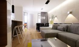 Minimalistyczny apartament we Wrocławiu